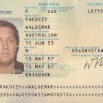 Australia identity card