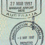 Australia border crossing 1997