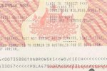 Australia – a visa in the 1999 version