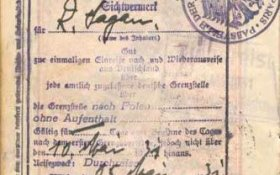 Austria – visa, 1931 post image