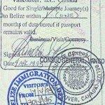 emigration to Belize