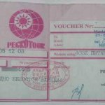 Belarus – travel voucher, 2003 thumbnail