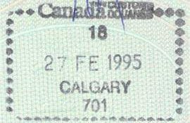 travels to Canada