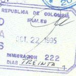 travels to Colombia
