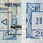 Czech Republic – stamps of railway border control (2003) thumbnail