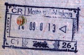 Czech Republic – railway border control, 2000 post image