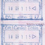 Czech Republic – stamps from border controls in Cieszyn (2001) thumbnail