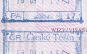 Czech Republic – stamps from border controls in Cieszyn (2001) post image
