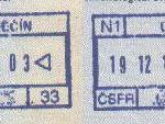Czechoslovakia – railway border control in 1991 thumbnail