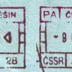 Cieszyn – border point of the Czechoslovak SSR, stamps 1989 thumbnail
