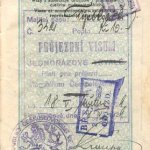 Czechoslovakia – visa and stamps, 1929 thumbnail