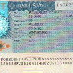 Estonia – visa, issued in Vilnius, 2002 thumbnail