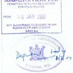 travels and visa to Fiji