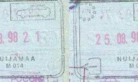 Finland – border stamps, 1998 post image