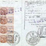 France – visa, 1980 (issued in Warsaw) thumbnail