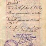 France – visa, 1931 thumbnail