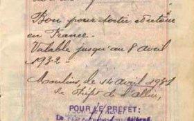 France – visa, 1931 post image