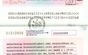 Germany – work permit, 2001 post image