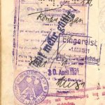 Germany – visa and stamp, 1931 thumbnail