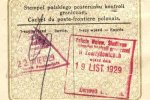 The Second Commonwealth of Poland – border stamps, 1929