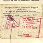 The Second Commonwealth of Poland – border stamps, 1929 thumbnail