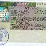 Ireland – visa, 2002 thumbnail