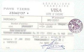 travels to Ivory Coast