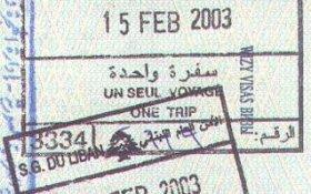 travels to Lebanon