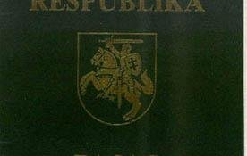 Lithuania – cover of the passport (another variant) post image
