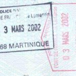 travels and visa to Martinique