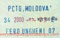 Moldova – stamp (entry), 2000 post image