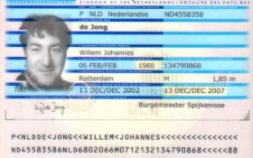 Netherlands – main page of passport post image