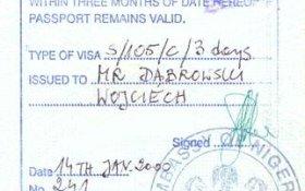 travels to Nigeria
