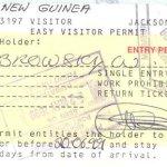 Papua-New Guinea tourism travellings