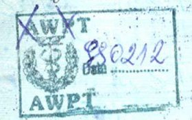 Poland – border stamp, 1999 post image