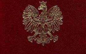 Poland – cover of the new passport, 2001 post image