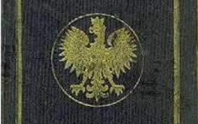 Poland – cover of the passport, 1931 post image