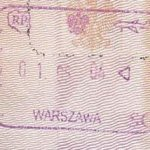Poland – passport stamp, May 1, 2004 thumbnail