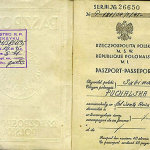 Poland – page with personal data in the passport, 1931 thumbnail