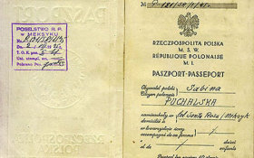 Poland – page with personal data in the passport, 1931 post image