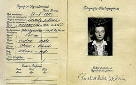 Poland – page with a photo of the passport, 1931 post image