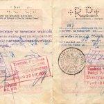 Poland – passport 1929, border stamps 1930-1932 thumbnail