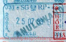 Poland – canceled stamp, 1999 post image