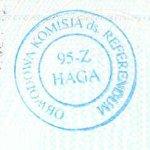 Poland – passport stamp, 2004 thumbnail