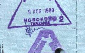 Tanzania – border stamps, 1999 post image