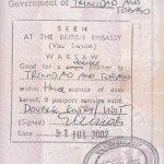 travels to Trinidad and Tobago