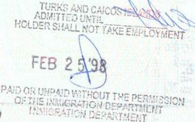 travels and visa to Turks and Caicos Islands