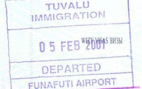 Tuvalu travelling tourism