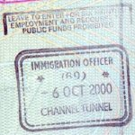 United Kingdom – border stamp, 2000 thumbnail